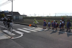 japanese crossing guards