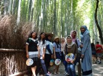 The Girls at Arashiyama