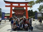 At the Main Gate of Fushimi Inari