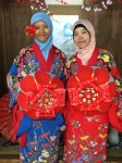 Okinawan Female Traditional Clothes