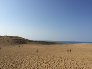 Tottori Sand Dunes, Tottori Prefecture, March 2015